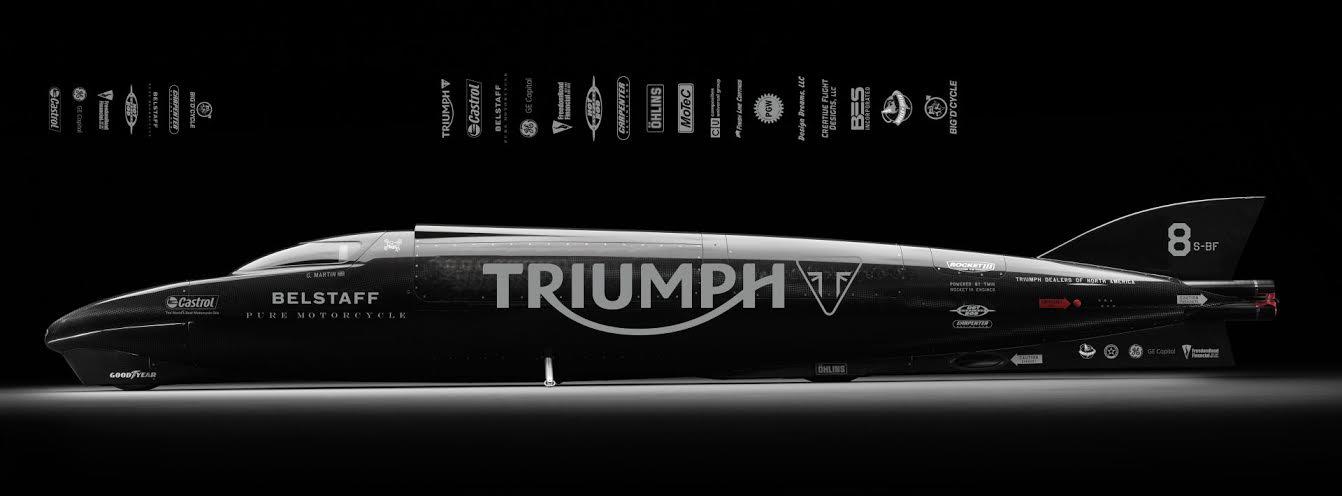 Triumph Motorcycles e Guy Martin insieme per riportare a casa il record di velocità
