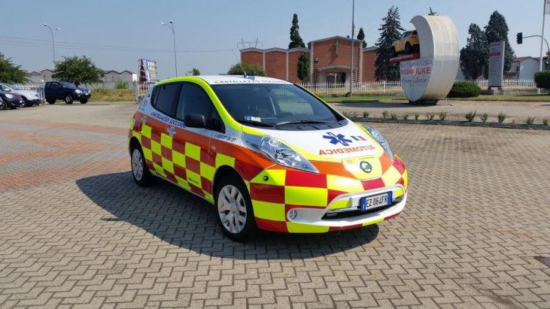 Mobilità a zero emissioni la prima Nissan LEAF Automedica in provincia di Alessandria