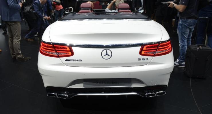 Mercedes-Benz: tutte le spettacolari novità di Francoforte 2015
