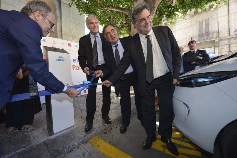 Car Sharing elettrico Renault e Enel scommettono su Palermo 2