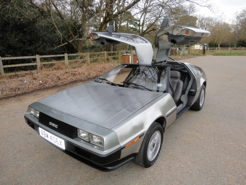 Ritorno al Futuro Back to the Future DeLorean 4