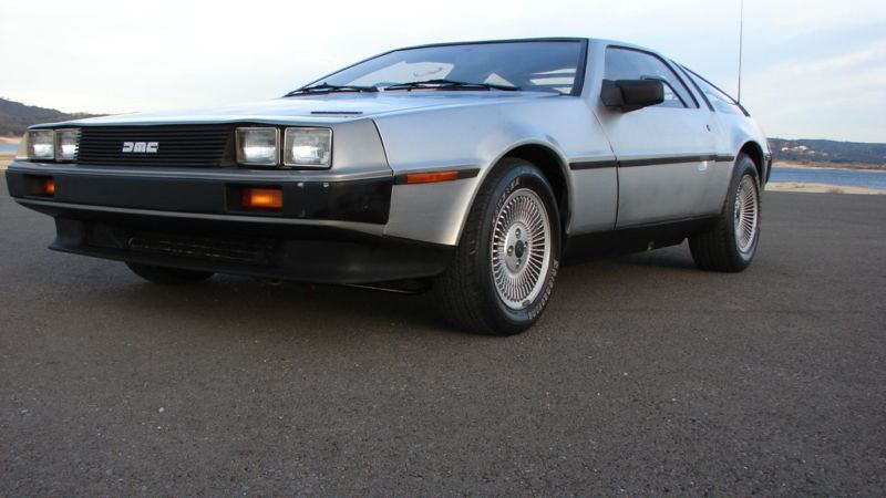 Ritorno al Futuro Back to the Future DeLorean 5