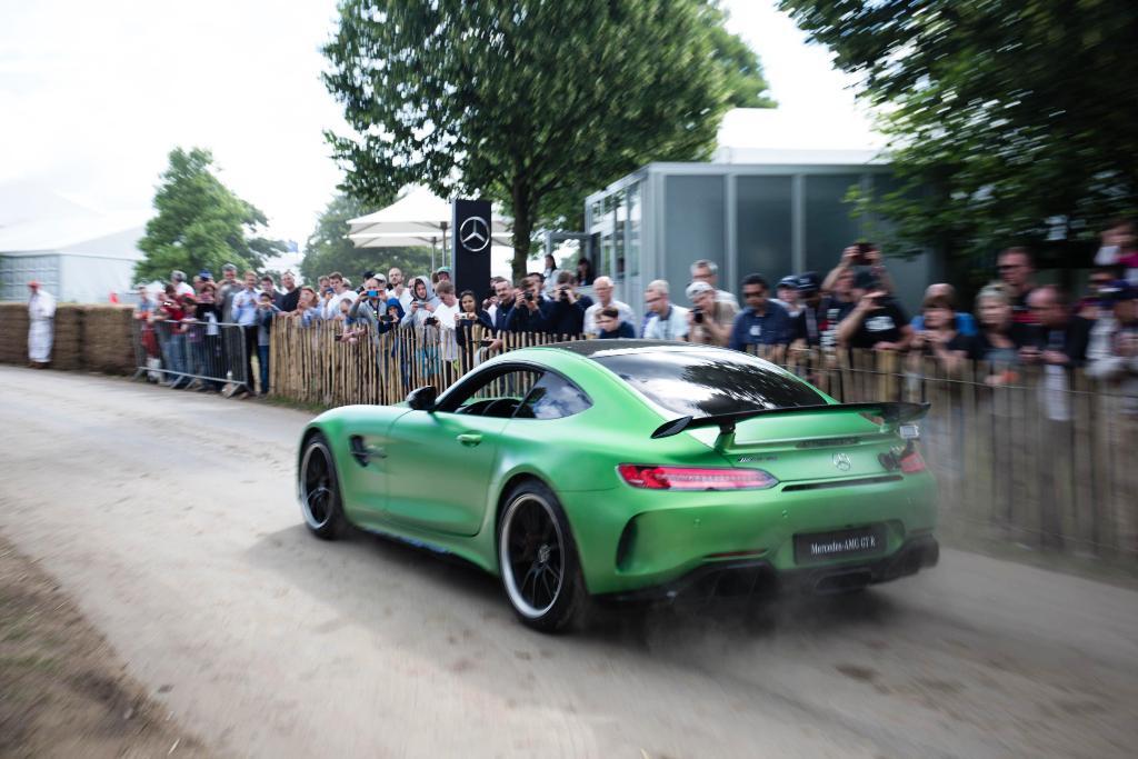 Mercedes-AMG GT R Foto dal vivo 11