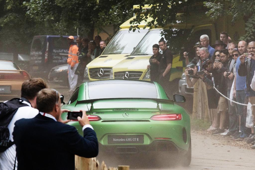 Mercedes-AMG GT R Foto dal vivo 17