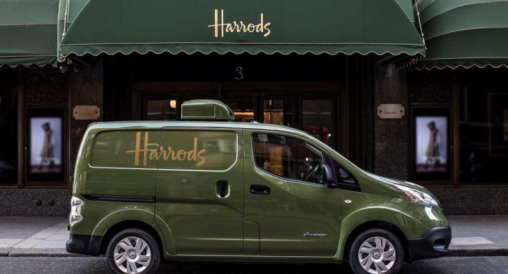 Nissan e-NV200 100% elettrico rivoluziona le consegne di Harrods