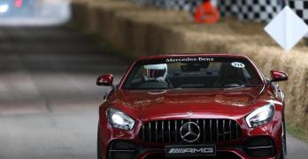 Mercedes al Goodwood Festival of Speed 2017