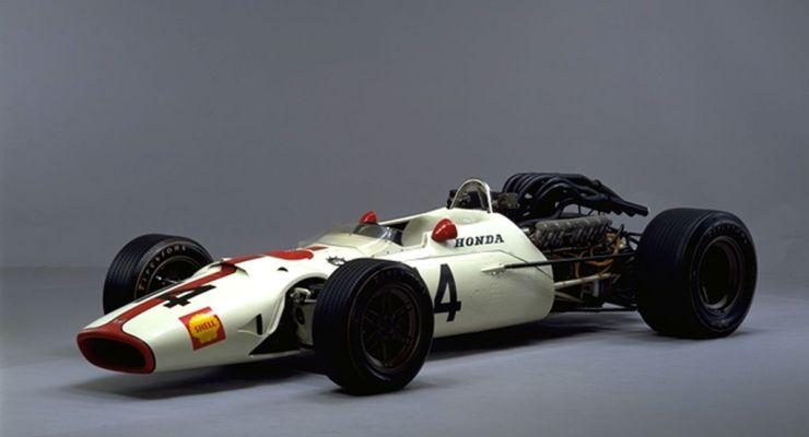 La Honda RA300 al Gran Premio d'Italia a Monza