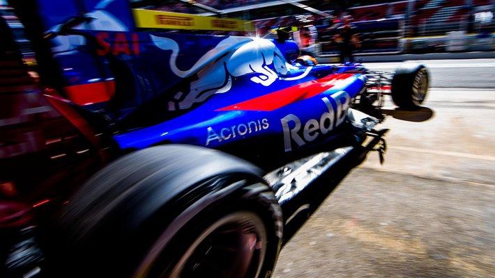 Acronis e Torro Rosso: il ruolo dei dati in Formula 1