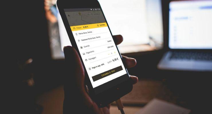 Taxi condiviso: ecco l'app per prenotarlo