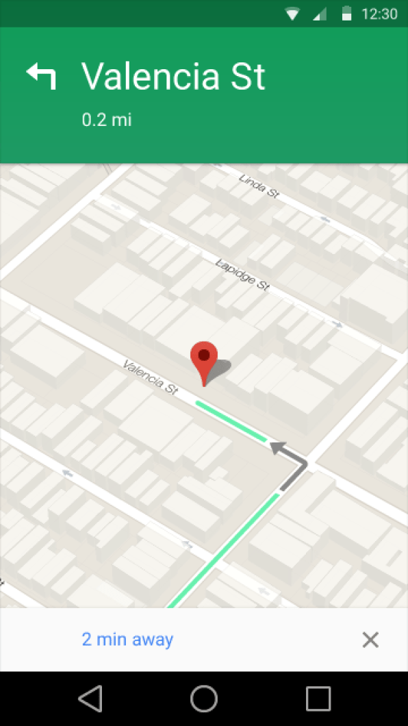 Google Maps. Imagem: Android Head Lines