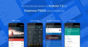 Elephone P9000 aggiornamento