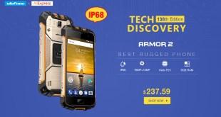 Ulefone Armor 2, offerta Aliexpress