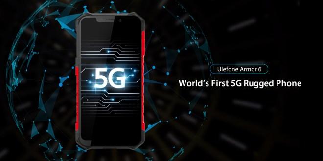 Ulefone Armor 6. Il primo smartphone che supporta il 5G