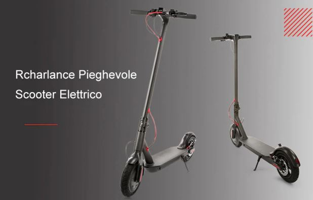 Rcharlance S8 Scooter Elettrico Pieghevole 5.2Ah