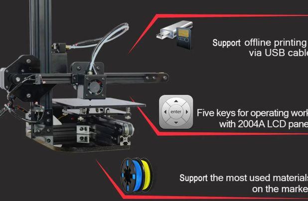 Stampante 3d, Tronxy X1