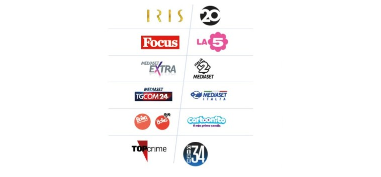 Mediaset, reti tematiche. L'offerta 2021/22 di La5, Italia 2, 20, Iris, Cine34, Top Crime, Mediaset Extra e Focus