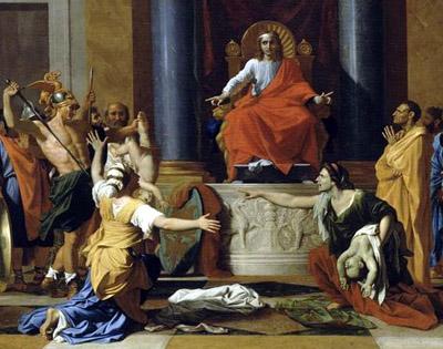 Resultado de imagen de arte griego juicio salomon