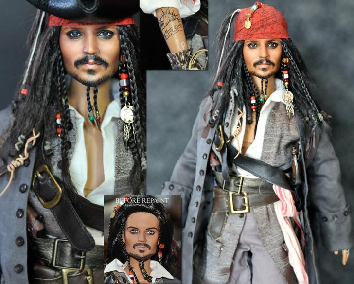 muneco Jack Sparrow Johnny Depp