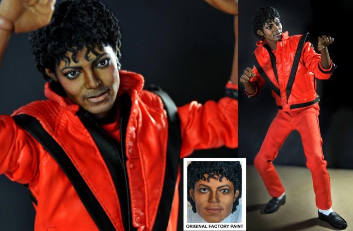 muneco Michael Jackson thriller