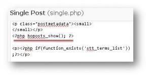 edit single php