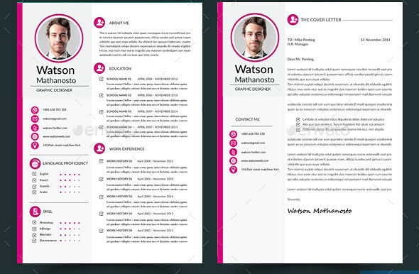 Interactive Resume Template Free Clean Interactive Resume
