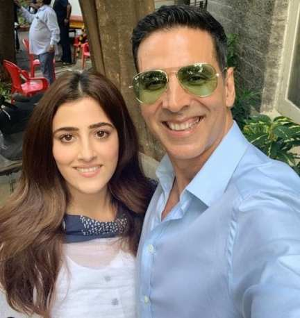 N Sanon and Akshay Kumar