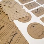 Druckvorlagen & Anleitung für Etiketten