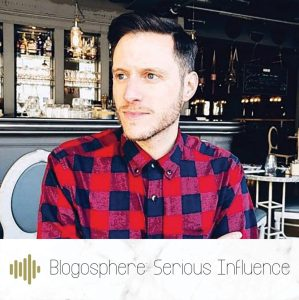 Blogosphere: Serious Influence. Podcast series one episode one with Joshua Barnett