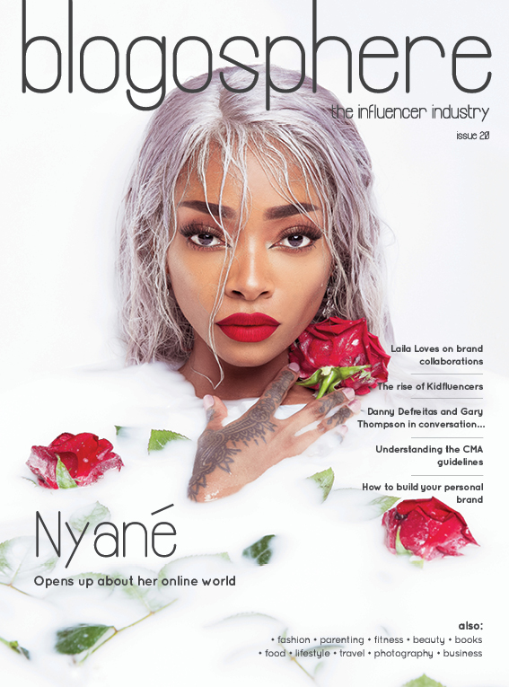 Blogosphere issue 20 featuring Nyané