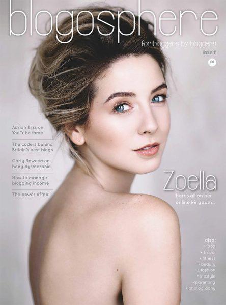 Blogosphere Magazine Issue 11 featuring Zoe Sugg of Zoella