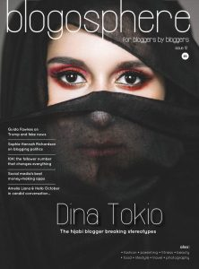 issue 12 Blogosphere magazine with Dina Tokio