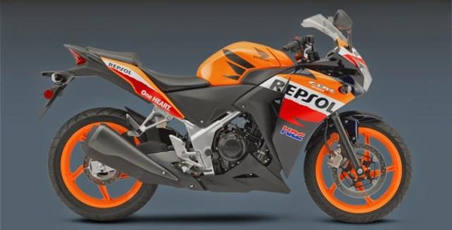Harga Honda CBR250R ABS Repsol Edition