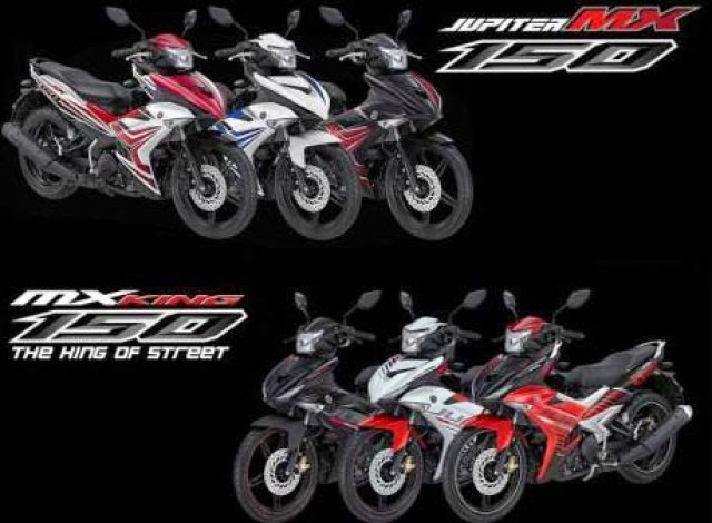 Jupiter MX150 vs MX King
