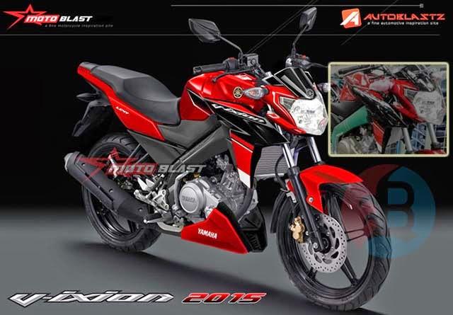 Yamaha New Vixion Facelift 2015