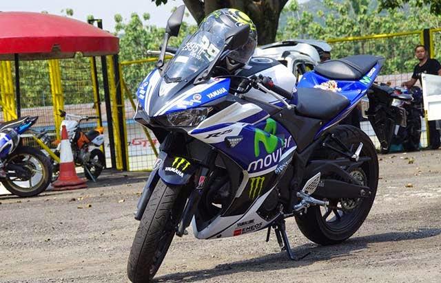 Yamaha R25 Livery Moto GP