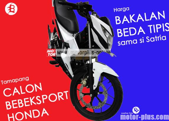 Bebeksport Honda berwarna putih