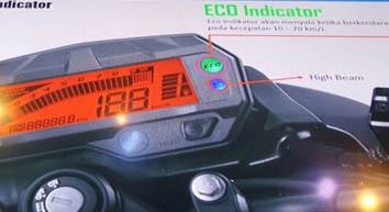 Eco Indikator pada Speedometer Byson FI