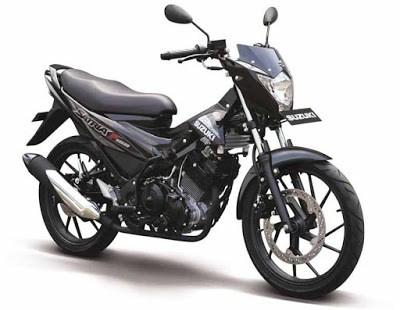 New Suzuki Satria S Black