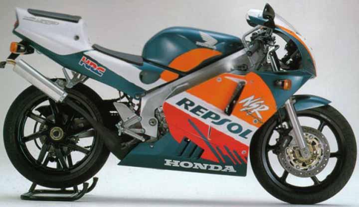 Honda NSR Repsol 250 bermesin 2 tak