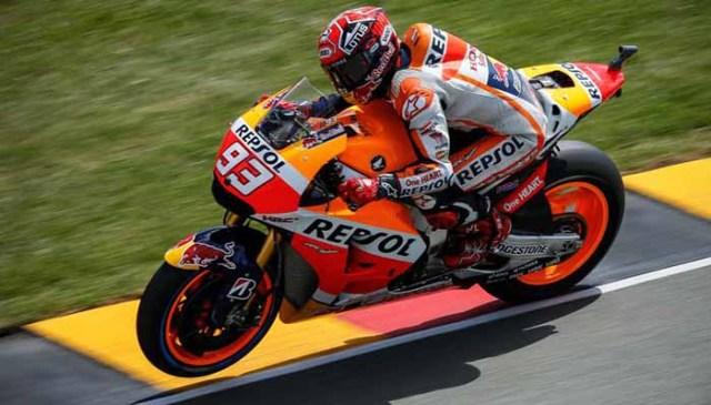 Marc Marquez juarai Moto GP Jerman