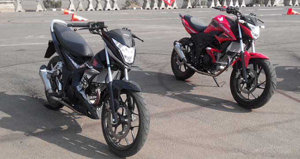 All New CB150R & Sonic