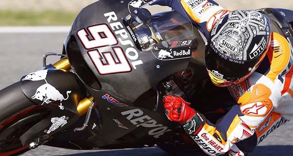 Marc Marquez tes Honda RC213V 2016