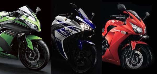 Kalahkan CBR250R, Yamaha R25 belum jangkau Ninja 250FI