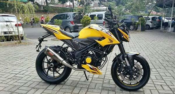 All New Honda CB150R Edisi Livery MotoGP Repsol