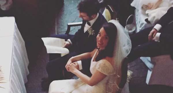 acara Eugene Laverty menikahi Pippa Morson