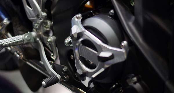 Mesin calon Yamaha MT-15 memiliki torsi besar