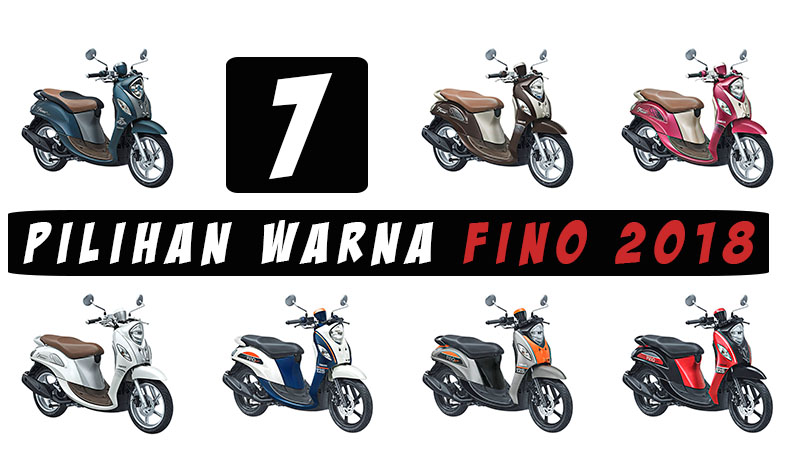 Pilihan Warna Fino 125 2018