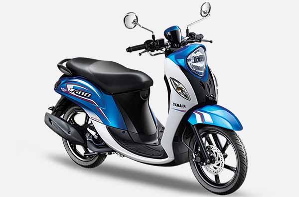 Pilihan Warna New Fino 125 Sporty Espirit Bleu
