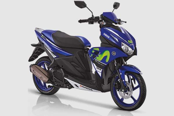 Pilihan Warna Yamaha Aerox 125 LC warna Livery MotoGP
