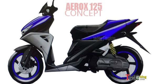 Harga Yamaha Aerox 125 Rp 18 jutaan